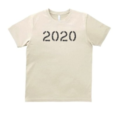 2020 令和2年 2020年 数字 文字 Tシャツ サンド