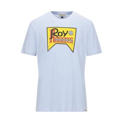 ロイ ロジャース ROŸ ROGER'S T シャツ スカイブルー L コットン 100% T シャツ