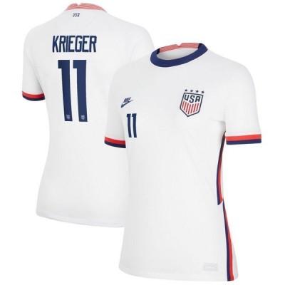 ナイキ レディース Tシャツ トップス Ali Krieger USWNT Nike Women's 2020 Home Breathe Stadium Replica Player Jersey
