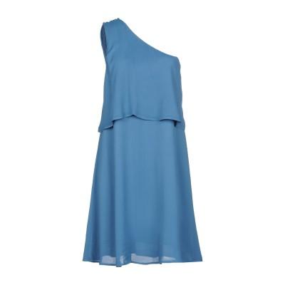 INTROPIA ミニワンピース&ドレス パステルブルー 42 レーヨン 100% ミニワンピース&ドレス