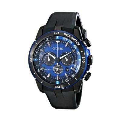 腕時計 シチズン Citizen CA4155-12L Men's Ecosphere Blue Dial Chronograph Watch