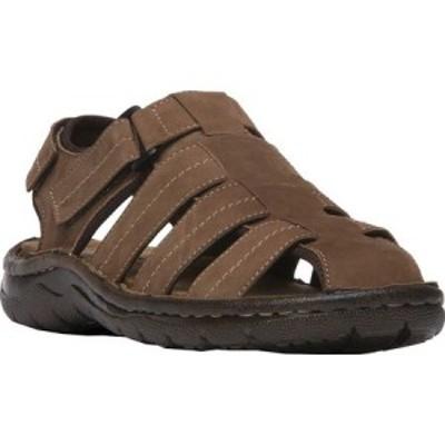 プロペット Propet メンズ サンダル フィッシャーマンサンダル シューズ・靴 Joseph Fisherman Sandal Brown Nubuck