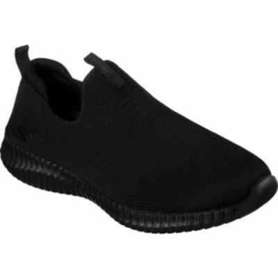 スケッチャーズ スリッポン・フラット Elite Flex Wasick Slip-On Sneaker Black/Black