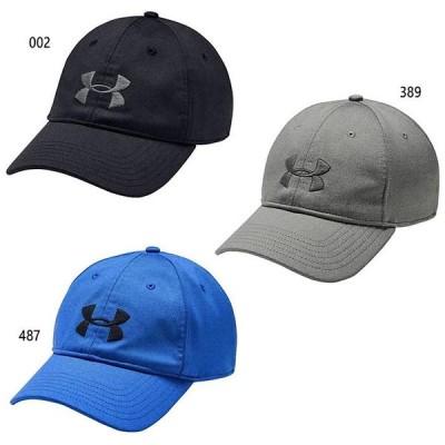 アンダーアーマー メンズ UAアーマー ツイスト アジャスタブル キャップ トレーニング 帽子 1351413