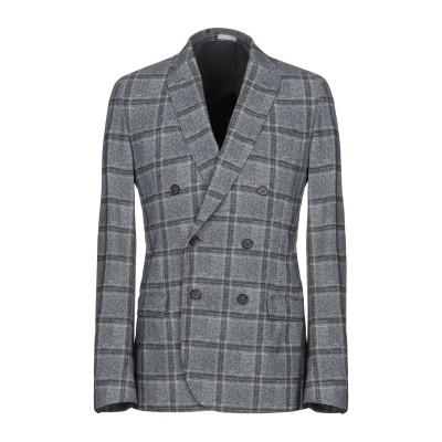 TRAIANO テーラードジャケット ブルーグレー 48 ナイロン 73% / ポリウレタン 27% テーラードジャケット
