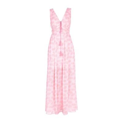 TRAFFIC PEOPLE ロングワンピース&ドレス ピンク L ポリエステル 100% ロングワンピース&ドレス