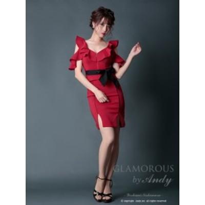 GLAMOROUS ドレス GMS-V483 ワンピース ミニドレス Andy グラマラスドレス クラブ キャバ ドレス パーティードレス