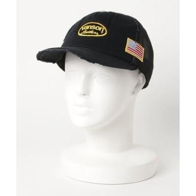 帽子 キャップ VANSON DAMAGE MESH CAP-2
