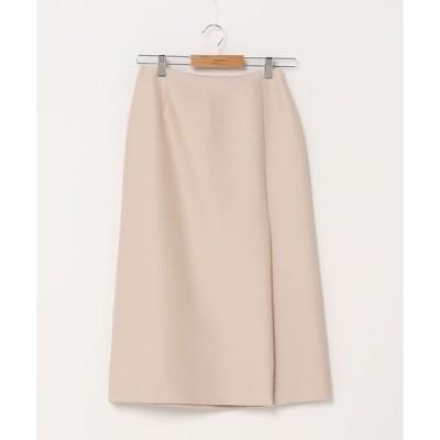 スカート シルクウールスカート