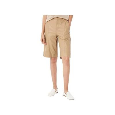 ヴィンス Leather Shorts レディース ショートパンツ ズボン 半ズボン Khaki