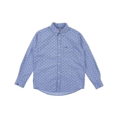 サンシックスティエイト SUN 68 シャツ ブルー 8 コットン 100% シャツ