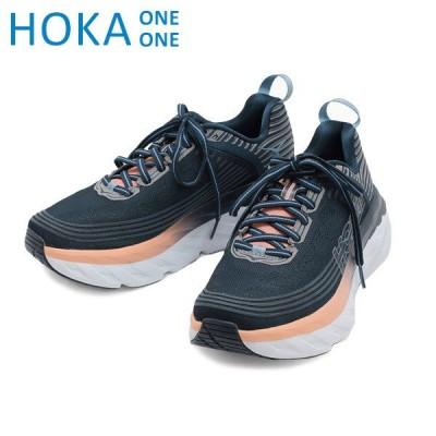 ホカオネオネ ボンダイ6 スニーカー W BONDI 6 1019270/MIDP HOKA ONE ONE レディース ランニング シューズ 靴