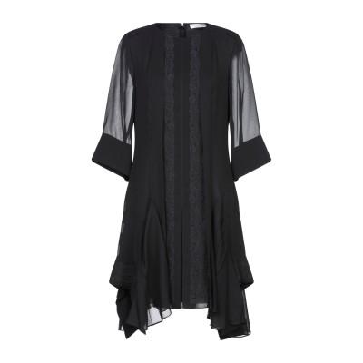 クロエ CHLOÉ ミニワンピース&ドレス ブラック 40 アセテート 57% / ナイロン 22% / シルク 21% / コットン / ナイロン