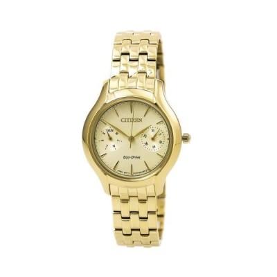 腕時計 シチズン Citizen FD4012-51P Women's Chandler Yellow Steel Bracelet Watch