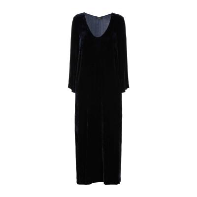 OTTOD'AME ロングワンピース&ドレス ダークブルー 38 レーヨン 82% / シルク 18% ロングワンピース&ドレス