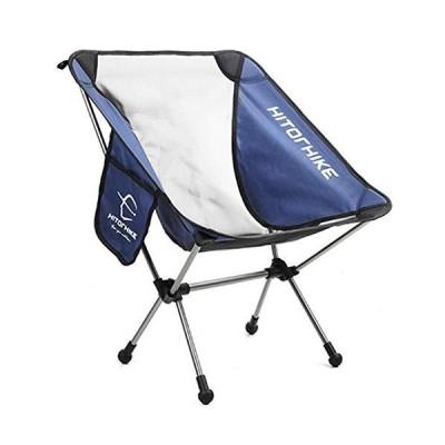 ケイ・ララ アウトドア チェア 軽量 [ネイビー] ロースタイル キャンプ 椅子 コンパクト