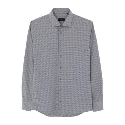 SSEINSE シャツ グレー M コットン 60% / ポリエステル 40% シャツ