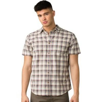 プラーナ メンズ シャツ トップス Bryner Shirt - Men's Dark Khaki