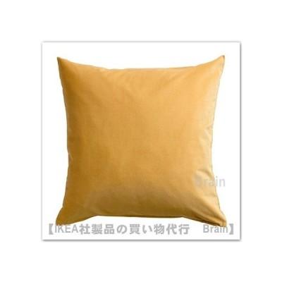 IKEA/イケア SANELA/サネーラ クッションカバー50x50 cm ゴールデンブラウン