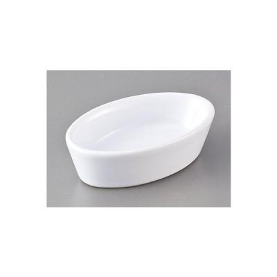 洋陶器 オープン/オーバルディッシュWH [8.5 x 5.2 x 2.5cm] 中国製 料亭 旅館 和食器 飲食店 業務用