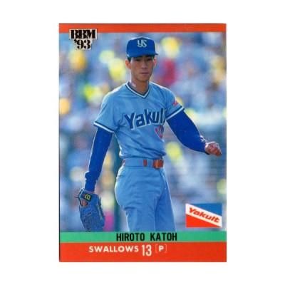 【送料無料】BBM1993 ベースボールカード レギュラーカード No.121 加藤博人