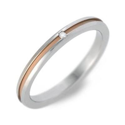 リング 指輪 レディース fe-fe×phiten チタン ピンクゴールド ダイヤモンド 4月の誕生石 誕生日プレゼント ギフト