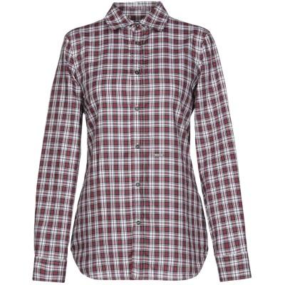 ディースクエアード DSQUARED2 シャツ ボルドー 44 コットン 100% シャツ