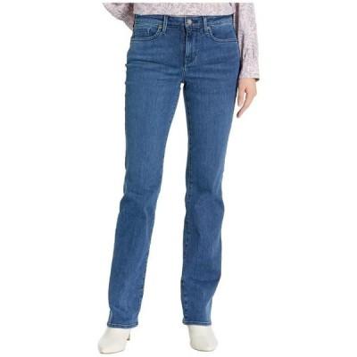 エヌワイディージェイ レディース デニムパンツ ボトムス Barbara Bootcut Jeans in Habana