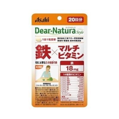 アサヒグループ食品 ディアナチュラ スタイル 鉄×マルチビタミン 20粒