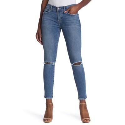 カレント エリオット レディース デニムパンツ ボトムス The Stiletto Ripped Skinny Jeans (2 Year Destroy) 2YEARSDESTROYED