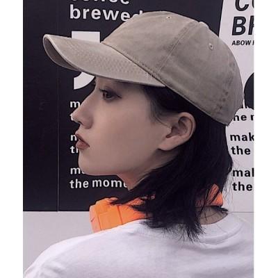 gossip!ロサンゼルス / ニュアンスカラー ヴィンテージ風 キャップ WOMEN 帽子 > キャップ