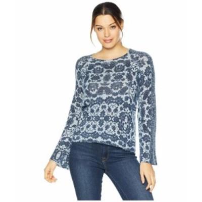Lucky Brand ラッキーブランド 服 スウェット Damask Pullover Sweater