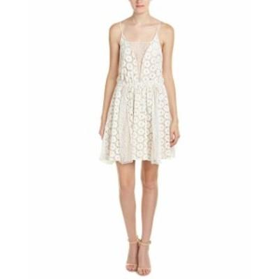 ファッション ドレス Abs By Allen B. Schwartz Womens Abs By Allen Schwartz Lace Eyelet Blouson Dress