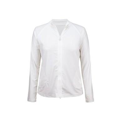 UV Skinz UPF 50?+レディース水ジャケット カラー: ホワイト