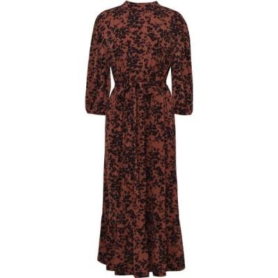 オアシス Oasis レディース ワンピース ワンピース・ドレス Curve Leopard Dress Multi Natural