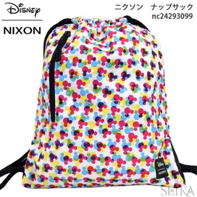 (クリアランス) NIXON ニクソン リュック ナップサック NC24293099 (13) バック カバン バッグ ディズニー ミッキー