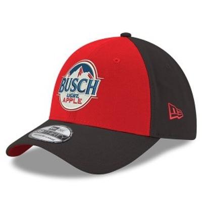 ニューエラ メンズ 帽子 アクセサリー Kevin Harvick New Era Busch Light Apple 39THIRTY Flex Hat Red