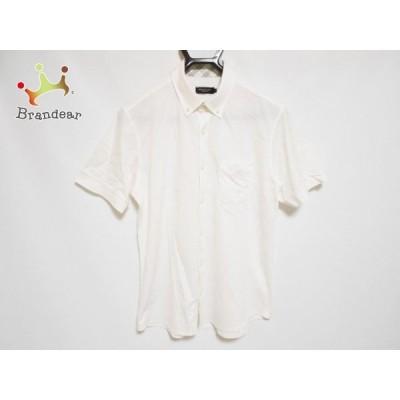 ブラックレーベルクレストブリッジ BLACK LABEL CRESTBRIDGE 半袖シャツ サイズ3 L メンズ - 白 新着 20200801