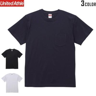 【メーカー取次】United Athle ユナイテッドアスレ 5.6オンス ハイクオリティー Tシャツ(ポケット付) [5006]【T】