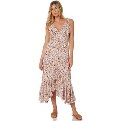 リュー スティック Rue stiic レディース パーティードレス ワンピース・ドレス talina ruffle dress Wild flower