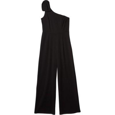 ベベ Bebe レディース オールインワン ジャンプスーツ ワンピース・ドレス Scuba Crepe One Shoulder Jumpsuit Black
