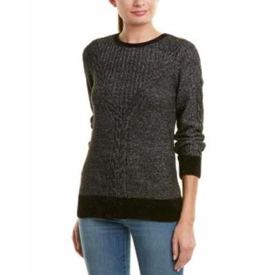 ファッション トップス Design History Chenille Cable-Knit Sweater
