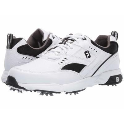 フットジョイ スニーカー シューズ メンズ Golf Specialty White/Black