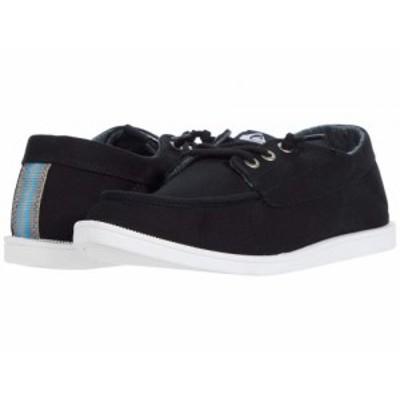 Quiksilver クイックシルバー メンズ 男性用 シューズ 靴 スニーカー 運動靴 Harbor Dredged Black/Black/White【送料無料】