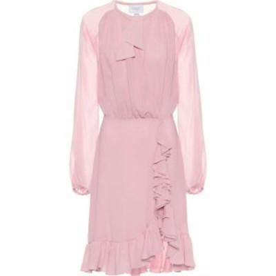 ジャンバティスタ バリ Giambattista Valli レディース パーティードレス ミニ丈 ワンピース・ドレス Silk Chiffon Mini Dress Rose Grey