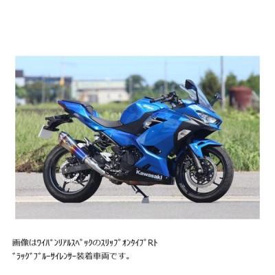 アールズギア ワイバンリアルSP スリップオンマフラー タイプR DB Ninja250 ニンジャ250