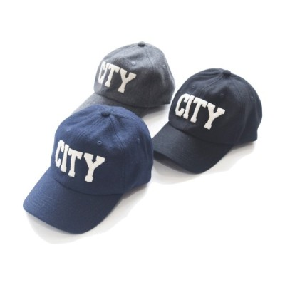 【30%OFF ¥5,940→¥4,158】VIRGO CITY CAP ウールキャップ(CITY生地プリント) 3カラー