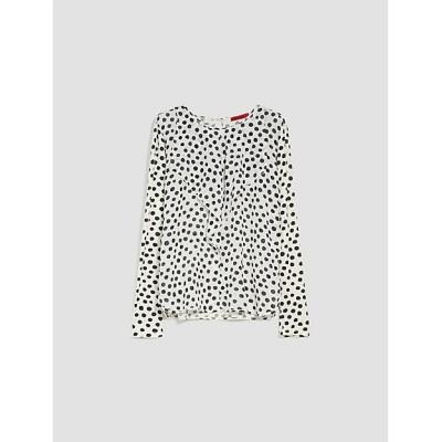 <MAX&Co./マックス アンド コー> キオマ シルク ジャージー ブラウス ホワイトパターン(002)【三越伊勢丹/公式】