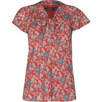 ラルフ ローレン Lauren by Ralph Lauren レディース ブラウス・シャツ トップス Chui Shirt Red Multi