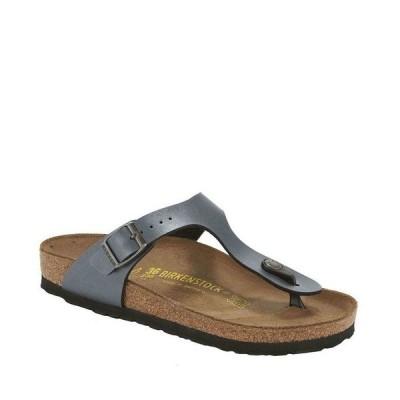 ビルケンシュトック レディース サンダル シューズ Gizeh Adjustable Strap Thong Sandals Onyx